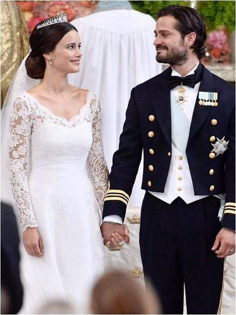 Sophia Hellqvist and Prince Carl-Philip
