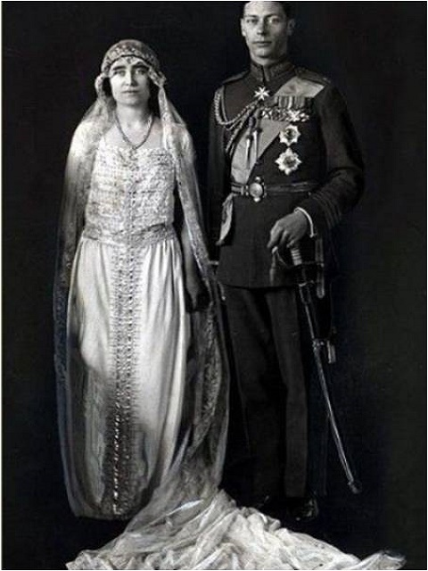 Lady Elizabeth Bowes-Lyon and Prince Albert