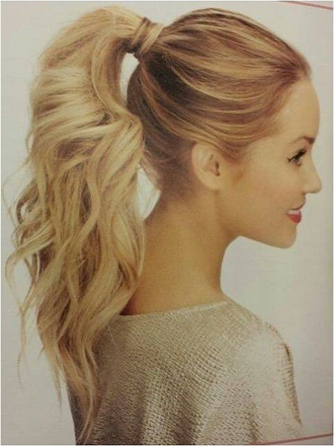 fun ponytail