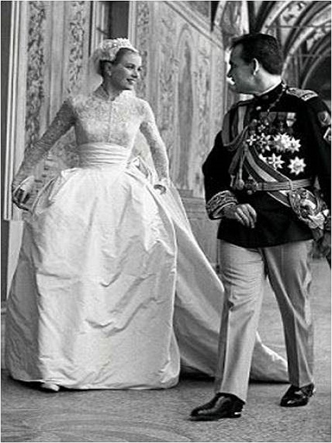 Grace Kelly and Prince Ranier III of Monaco