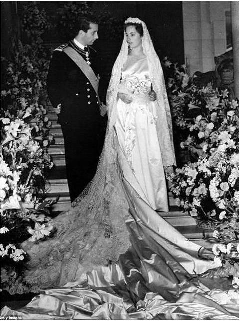 Paola Ruffo di Calabria and Prince Albert