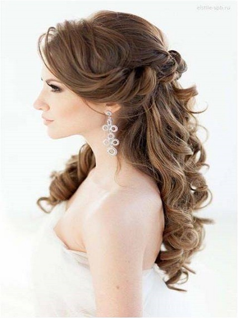 romantic curls for long hair