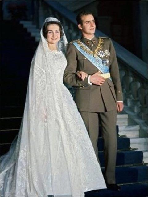 Princess Sophia and Juan Carlos I