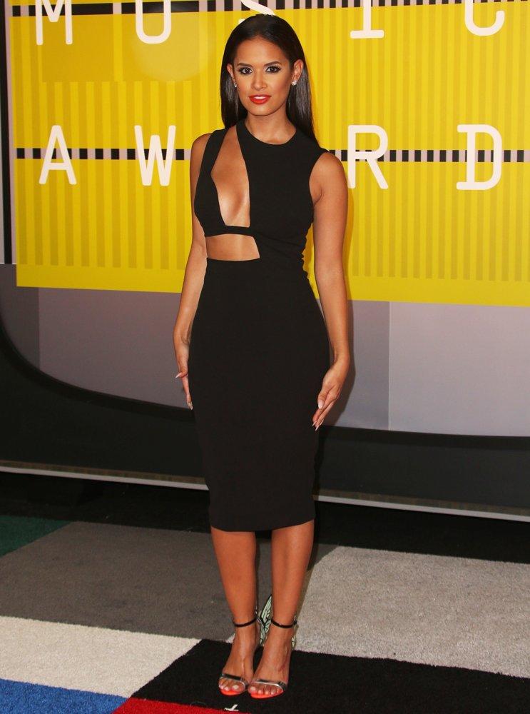 Rocsi Diaz at the MTV VMA 2015