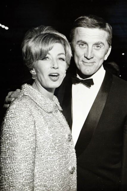 anne buydens and kirk douglas