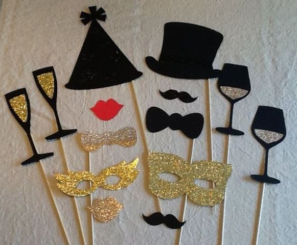 fall favor photo booth props