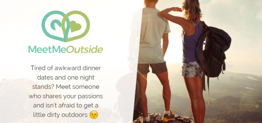 meetmeoutside dating app home page