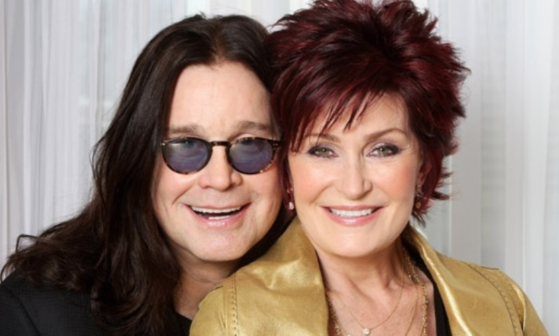 ozzy osborne and sharon osborne