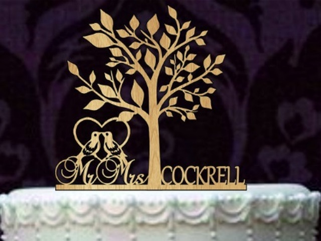 rustic simple and classic topper