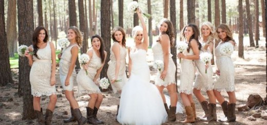 rustic wedding dress1