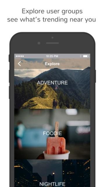 tikitalk dating app explore option