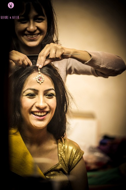 Indian Bride Getting Ready NewLoveTimes