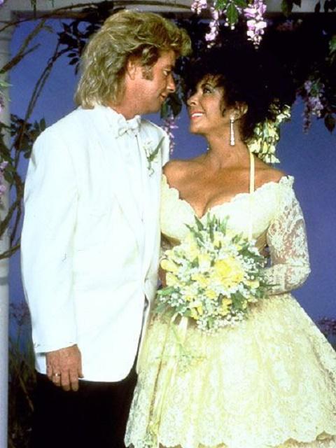 Elizabeth Taylor and Larry Fortensky wedding