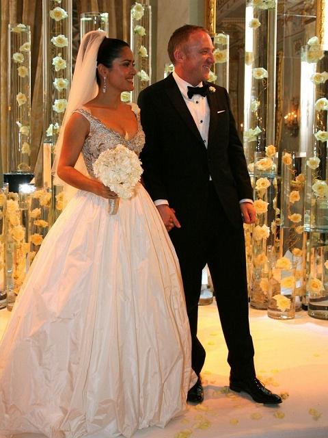 François-Henri Pinault and Salma Hayek wedding
