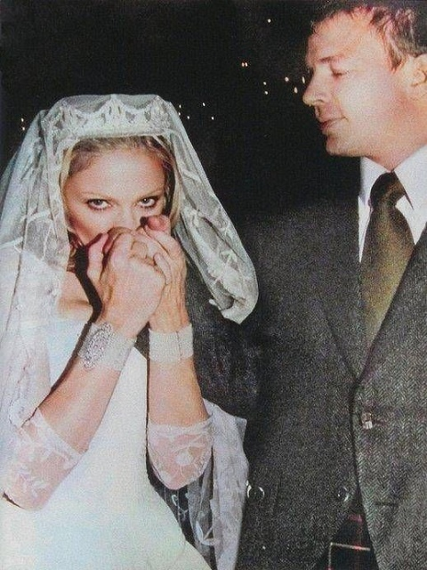 Madonna and Guy Ritchie wedding