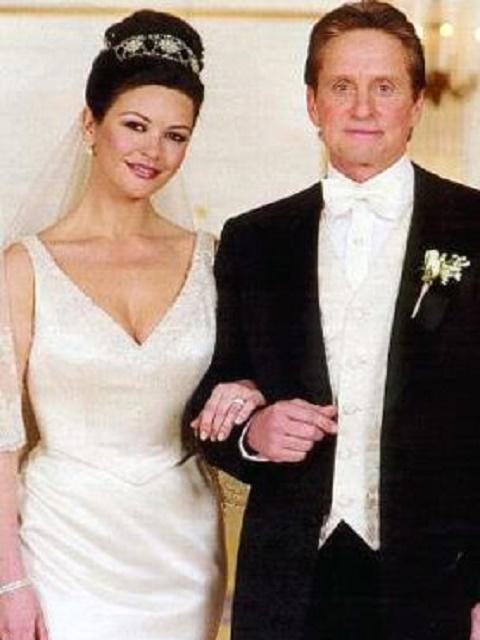 Catherine Zeta-Jones and Michael Douglas wedding