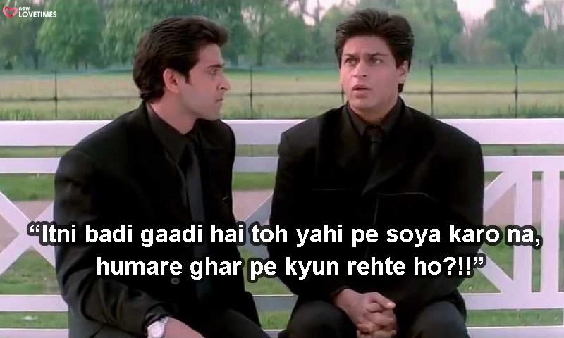 shahrukh khan funny dialogues