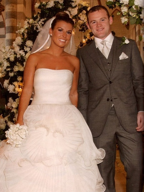 Wayne and Coleen Rooney wedding