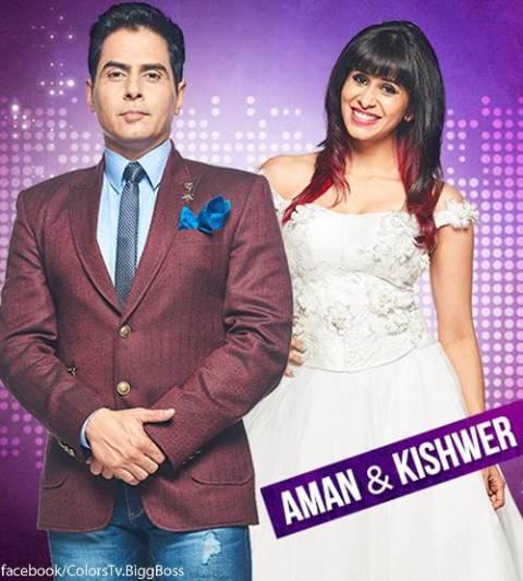 Bigg Bos 9_Aman and Kishwer