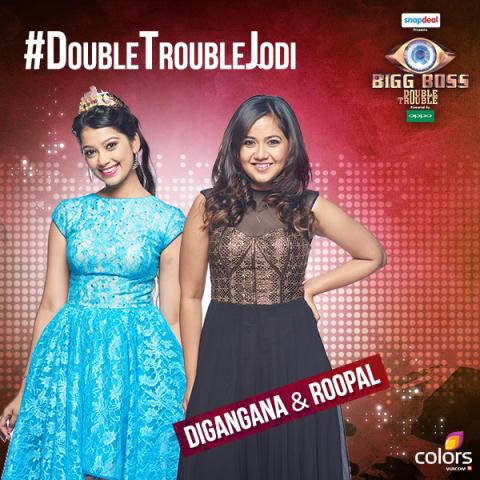 Bigg Bos 9_Digangana and Roopal
