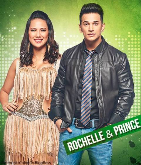 Bigg Boss 9_Rochelle and Prince