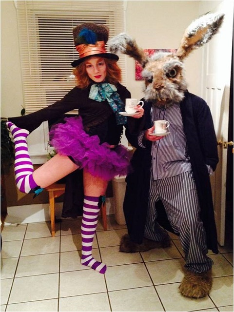 Mad Hatter and The Match Hare