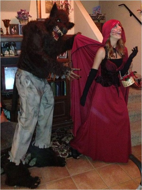 The Wolf and Little Red Riding Hood