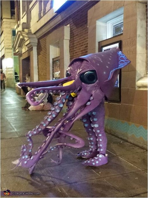 Giant Squid Costume