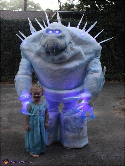 Frozen Marshmallow Costume