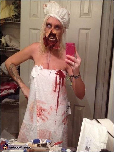"Out of the Shower"" Zombie Costume"