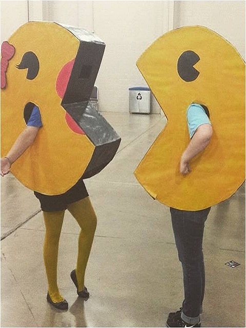 Mr. and Mrs. Pac Man