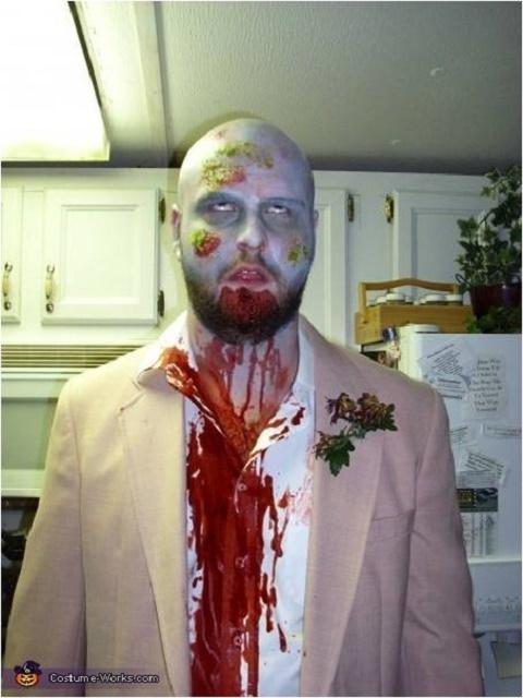 Prom Zombie Costume