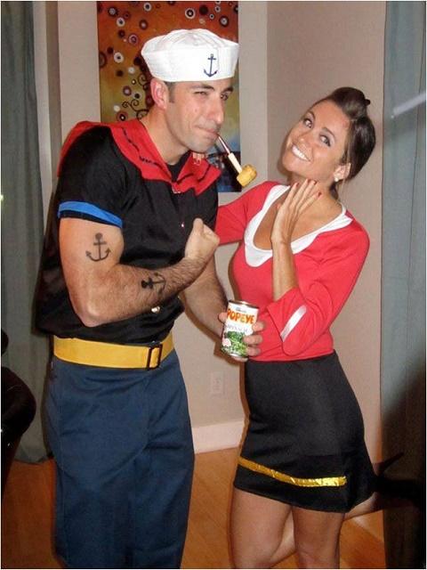 Popeye and Olive