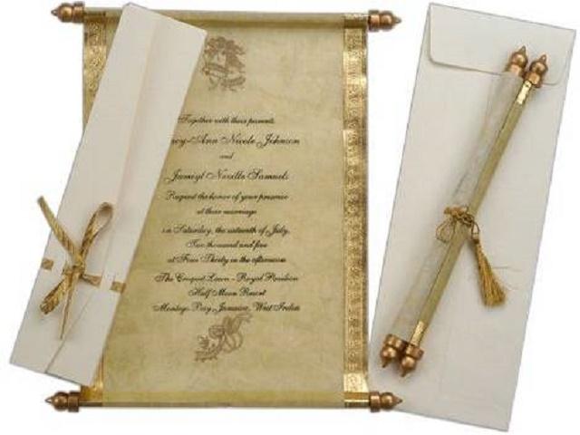 The Scroll Invite