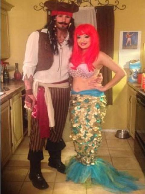 Jack Sparrow and Mermaid