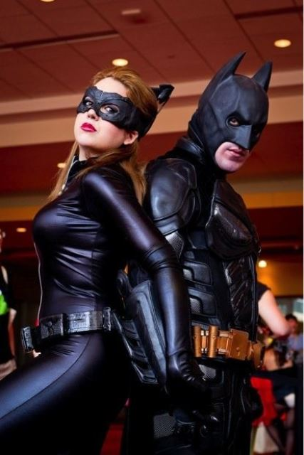 couple batman and catwoman