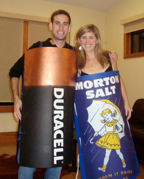 couple duracell and morton salt
