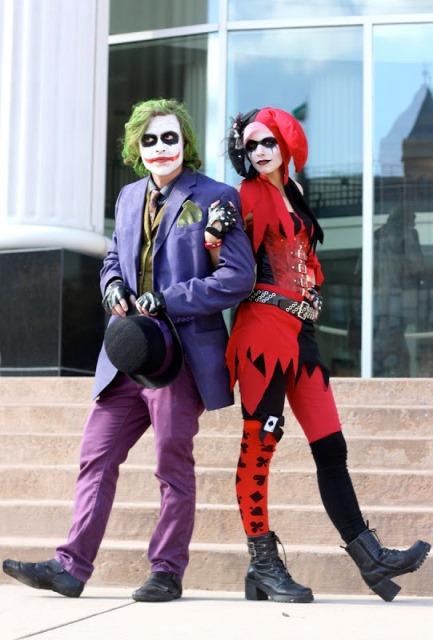 couple joker and harley quinn