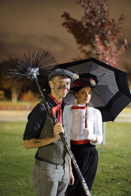 couple mary poppins and bert