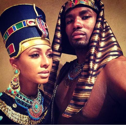 couple queen nefertiti and pharoah ankhanetan