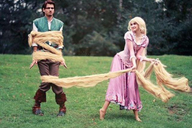 couple rapunzel and flynn rider