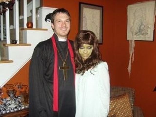 couple the exorcist