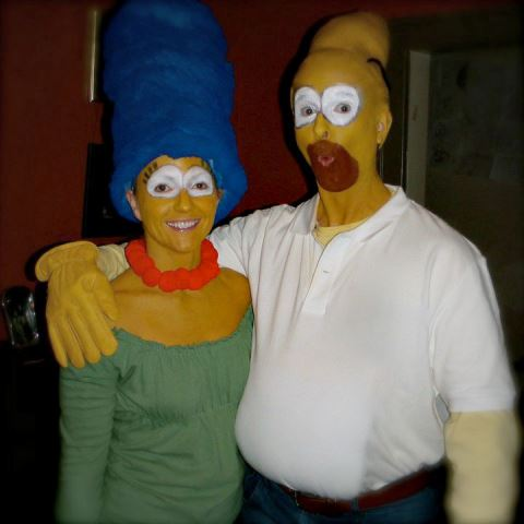 couple the simpsons
