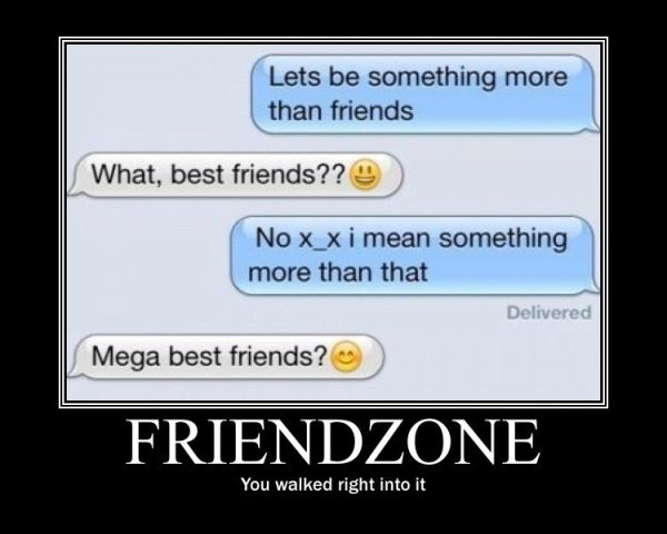 fb status friendzone