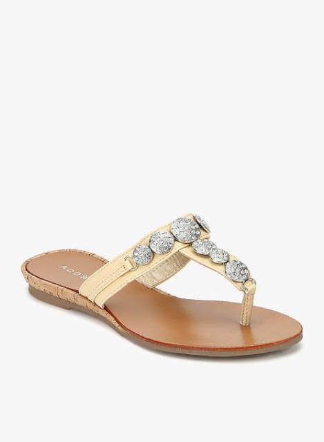 flats magical beige sandals