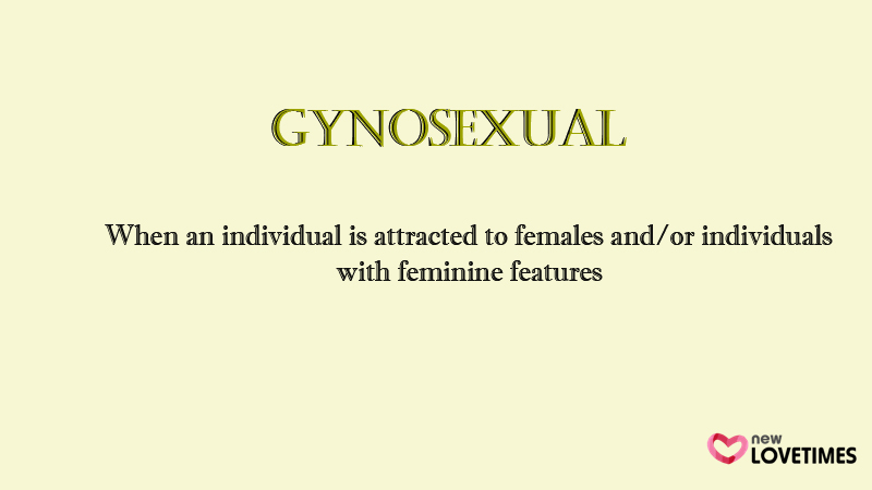 gynosexual