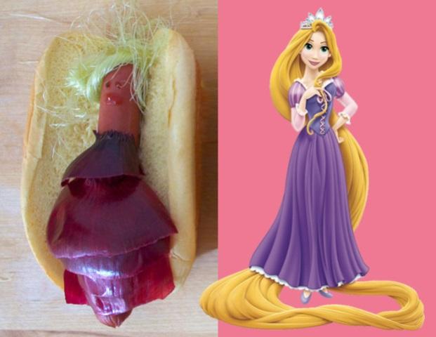 luckypeach rapunzel