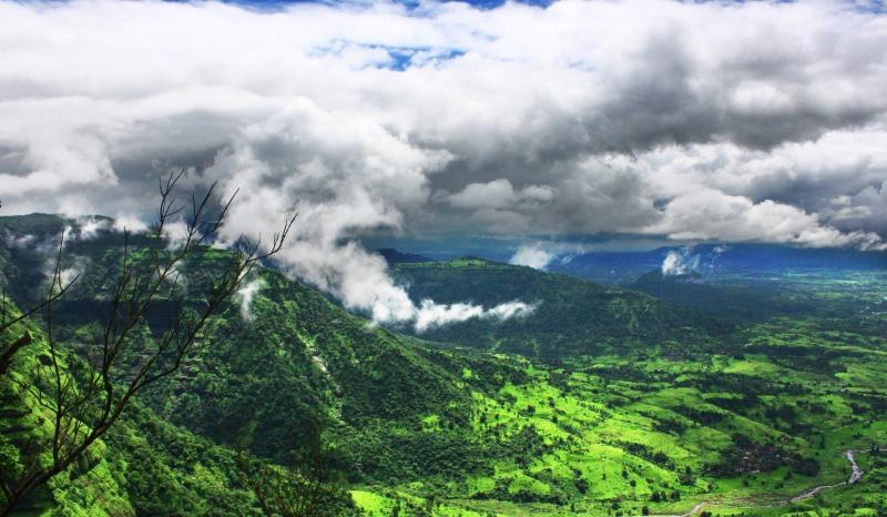 matheran hill view