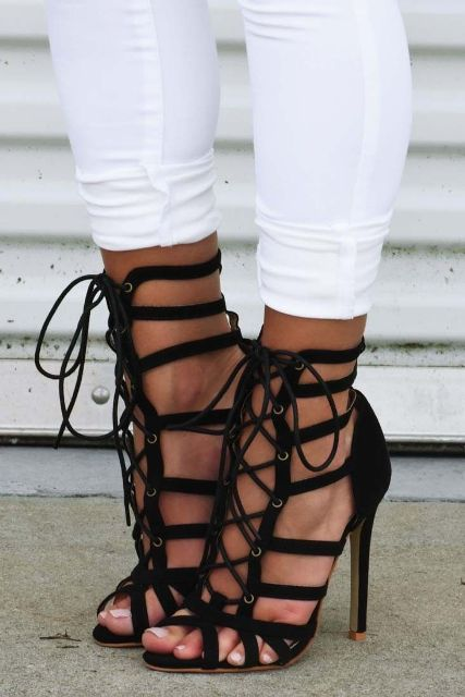 must have shoes strappy heels