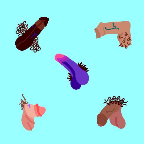 penis emojis